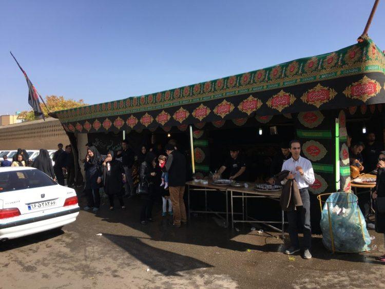 Nazri and Tea in Qazvin.