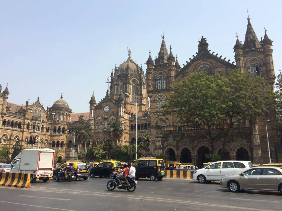 Victoria Terminus. Photo by Alex Shams.