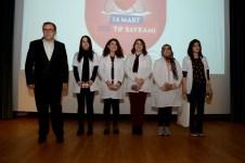 DSC 6465 1 - 14 Mart Tıp Bayramı Üniversitemizde Düzenlenen Törenle Kutlandı