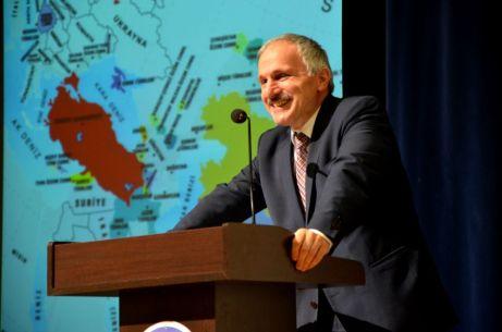 DSC 9313 - Üniversitemiz Türk Dil Kurumu Başkanı Prof. Dr. Kaçalin'i Ağırladı
