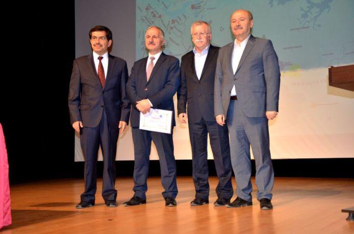 DSC 9410 - Üniversitemiz Türk Dil Kurumu Başkanı Prof. Dr. Kaçalin'i Ağırladı