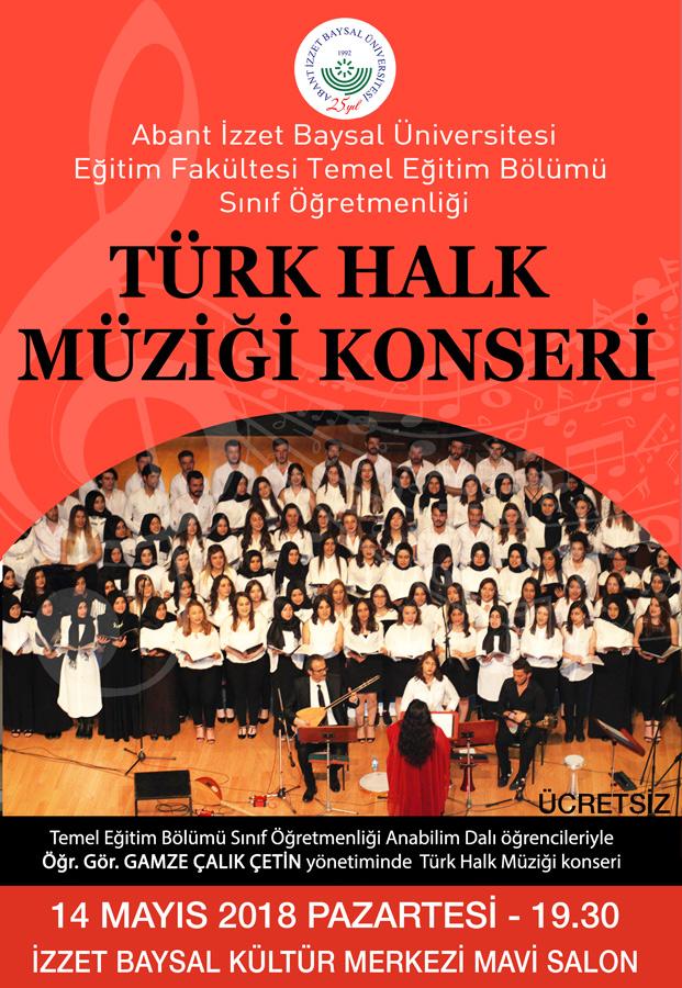thm18 - Türk Halk Müziği Konseri