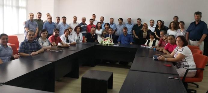 IMG 2 - Sağlık, Kültür ve Spor Daire Başkanlığı'nda Görev Değişimi