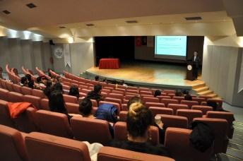 DSC 0266 - Üniversitemizde Erasmus+ Personel Eğitim Alma Hareketliliği Bilgilendirme Toplantısı Yapıldı