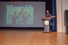 DSC 0586 - Şampiyon Sporcular Deneyimlerini BESYO Öğrencileri ile Paylaştılar