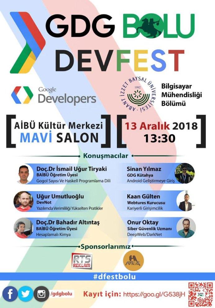 GoogleDeveloperFest GDG Bolu - Google Developer Fest- GDG Bolu