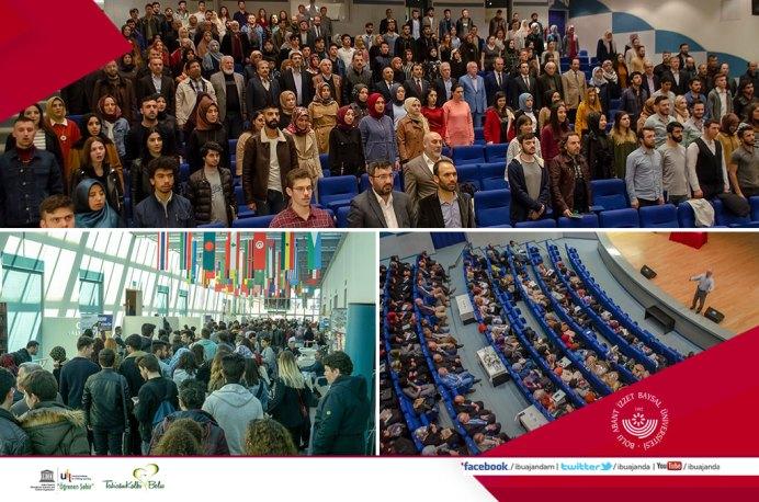 Teşekkür Mesajı Banner - Rektör Alişarlı'dan Öğrencilerimize Teşekkür Mesajı