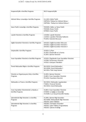 e Sertifika Programlari Page 07 - E-Sertifika Programları Hk. Duyuru