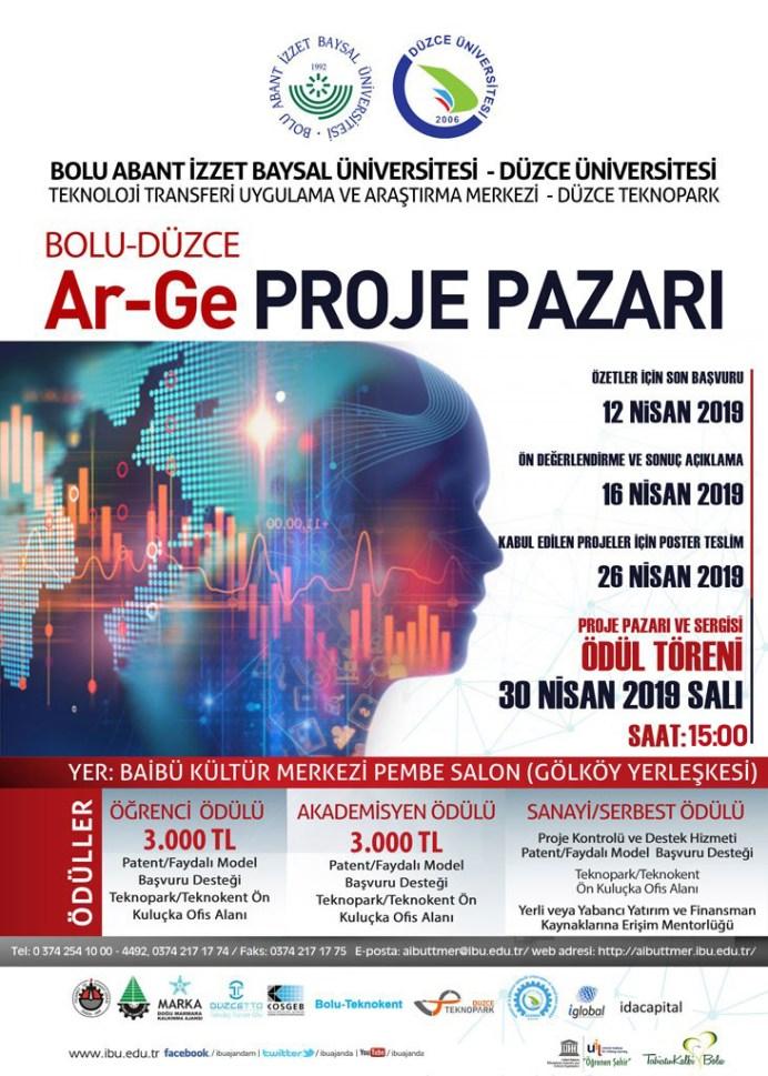 projepazarı2019 - Bolu-Düzce Ar-Ge Proje Pazarı