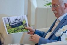 DSC 2540 - En İyi Askeri Kara Araç Tasarımı Ödülü Sahibi BAİBÜ Öğrencisinden Rektör Alişarlı'ya Ziyaret...