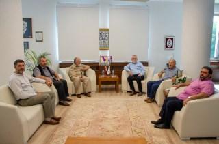 DSC 3787 - Bolu İlahiyat Vakfı'ndan Rektör Alişarlı'ya Ziyaret