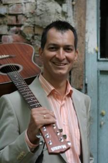 Street Gábor Huba, trubadúr