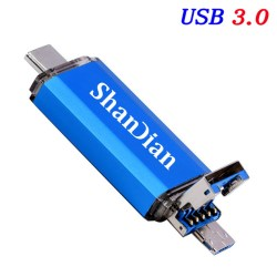 Shandian pendrive blue