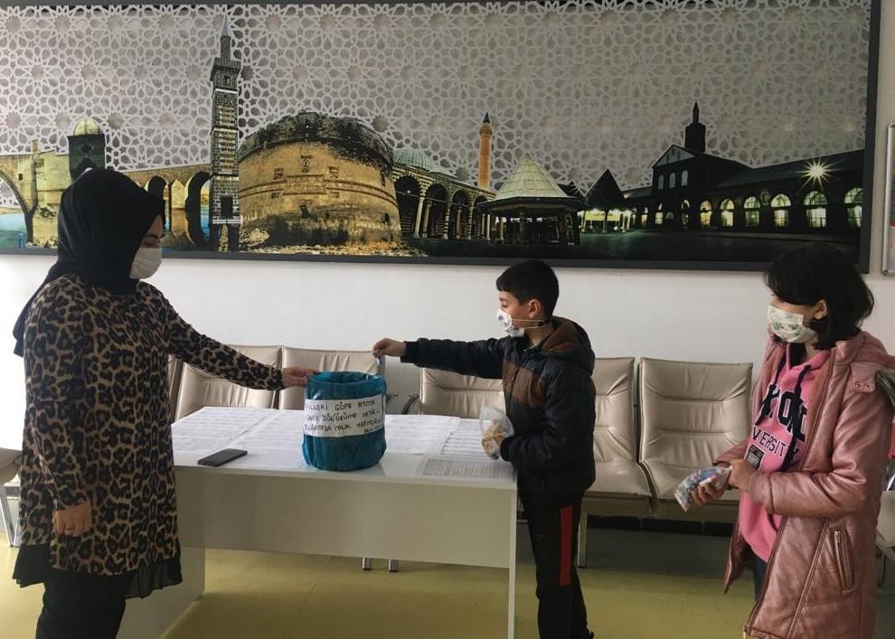 Diyarbakır Bilgi Evi'nden geri dönüşüm çalışması