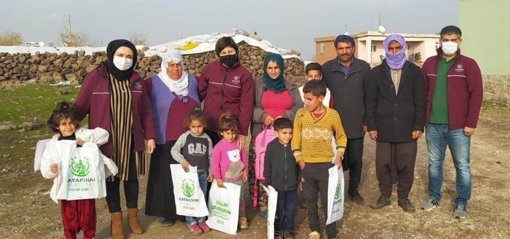 Kayapınar'da 215 bebeğe 'Hoş Geldin' paketi