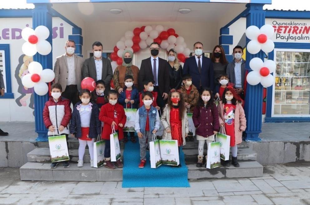 Diyarbakır'da oyuncak atölyesi açıldı