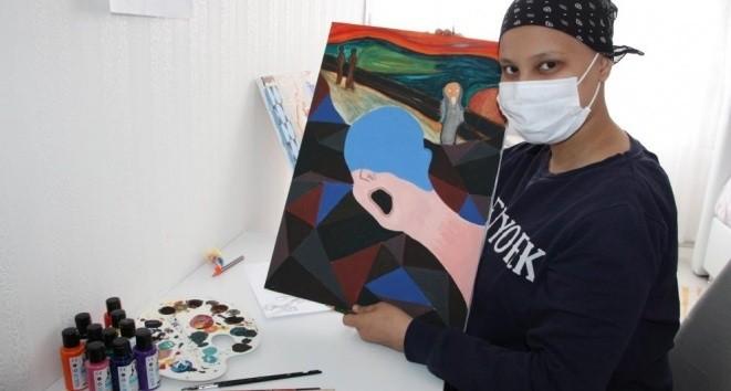 16 yaşındaki Lösemi hastasının hayali Prag'da resim çizmek