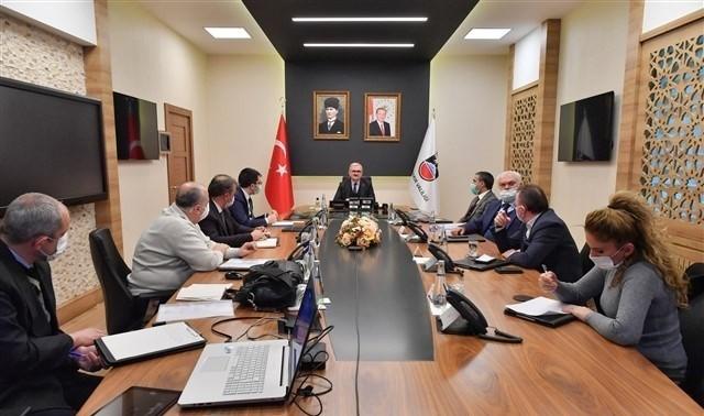 Diyarbakır'da Spor Park Projesi toplantısı