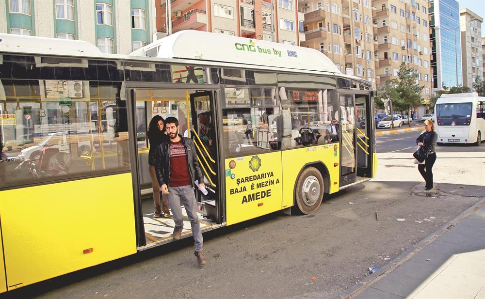 Diyarbakır'da toplu taşımaya yeni nefes