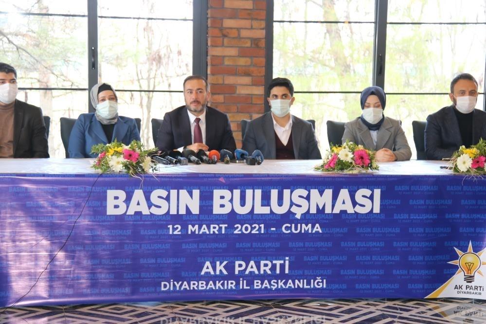 AK Parti İl Başkanı basın mensuplarıyla bir araya geldi