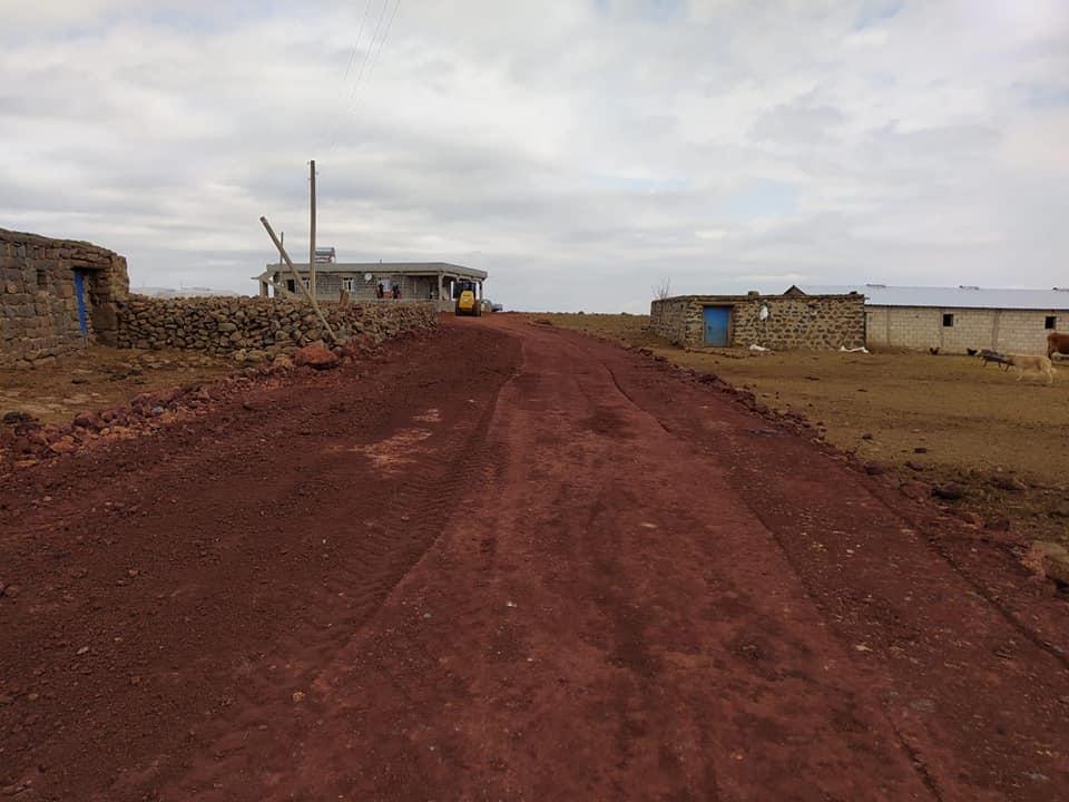 Bağlar'da 5 kırsal mahalleye yeni yollar