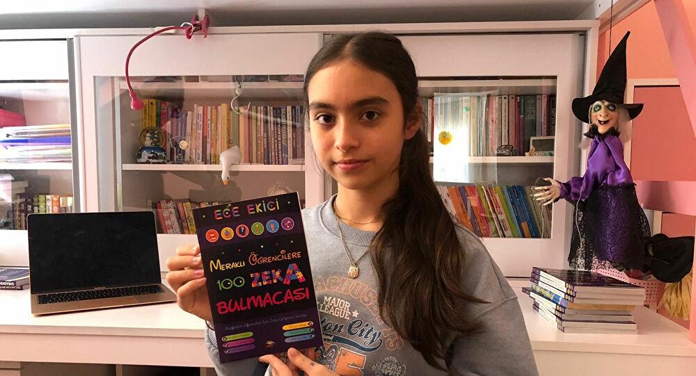 13 yaşında kitabı çıktı