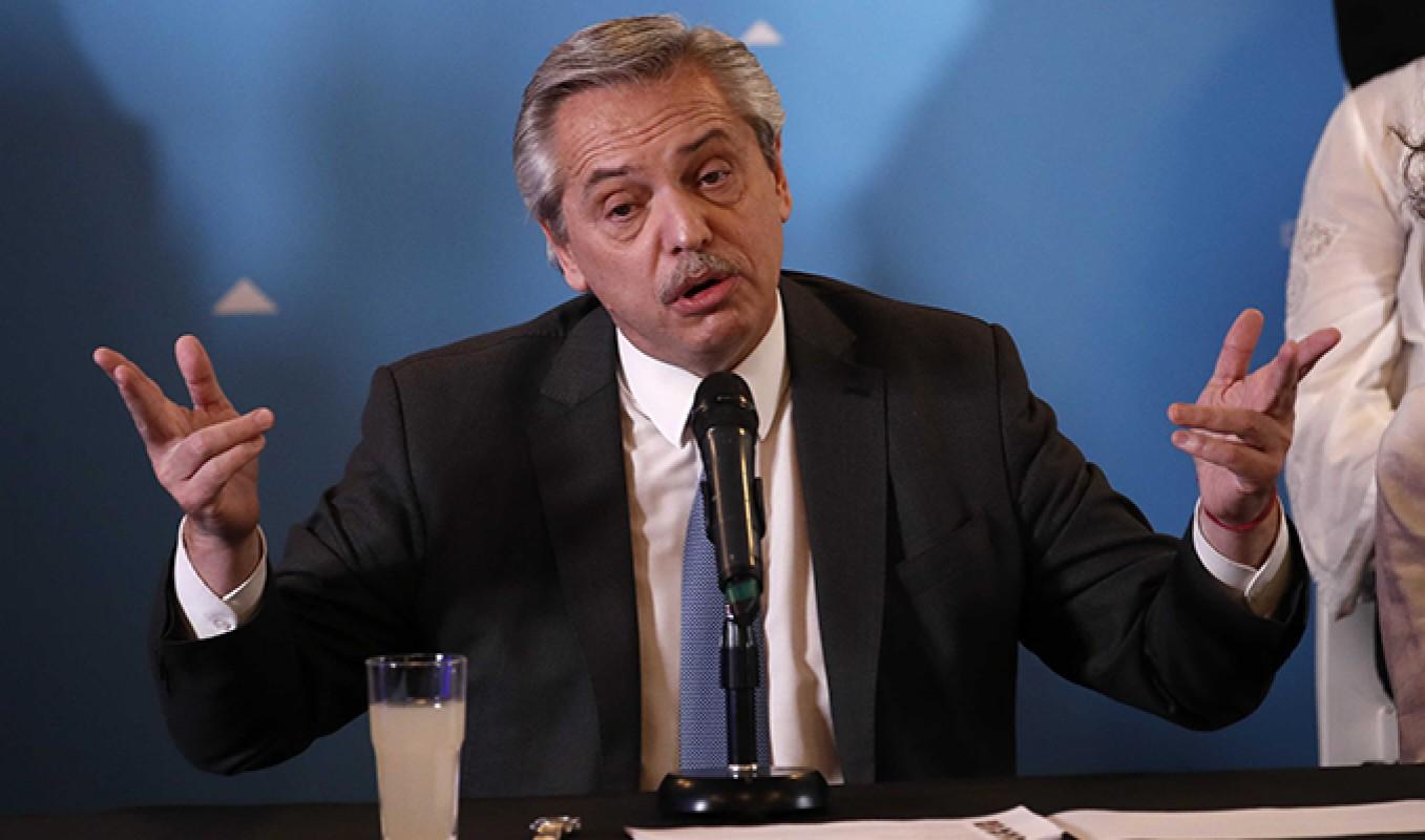 Arjantin Devlet Başkanı Covid-19'a yakalandı