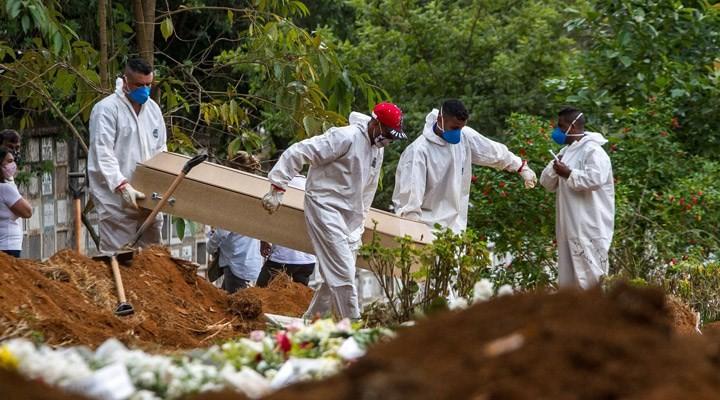 Brezilya'da bir günde Covid-19'dan 4 binden fazla kişi öldü