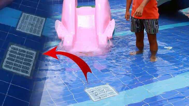 Küçük havuzda boğulan Deniz'in babası: Sırtında mazgal izi vardı