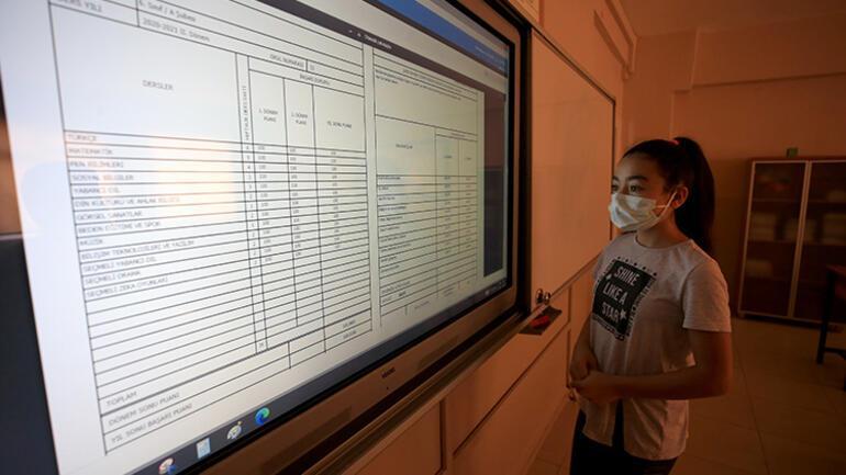 E-Okul üzerinden dijital karneler erişime açıldı