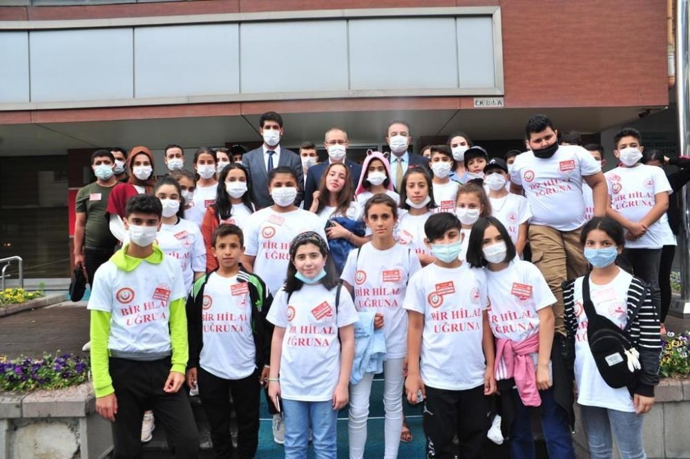 Ergani'nin kitap kurtları Ankara'da