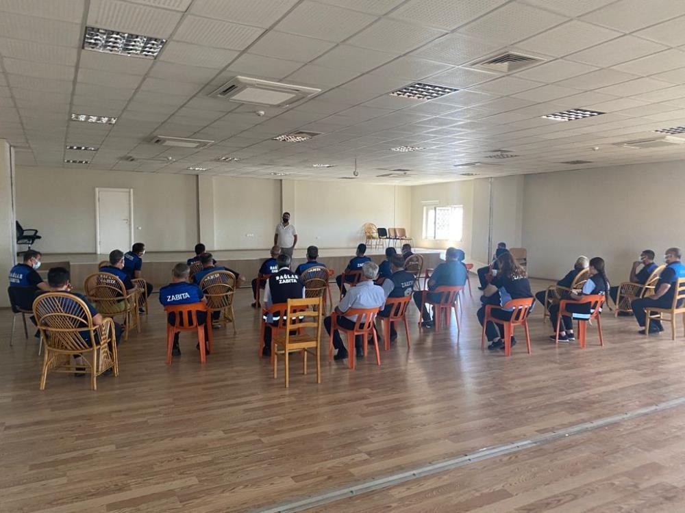 Bağlar Belediyesi personeline iş sağlığı ve güvenliği eğitimi