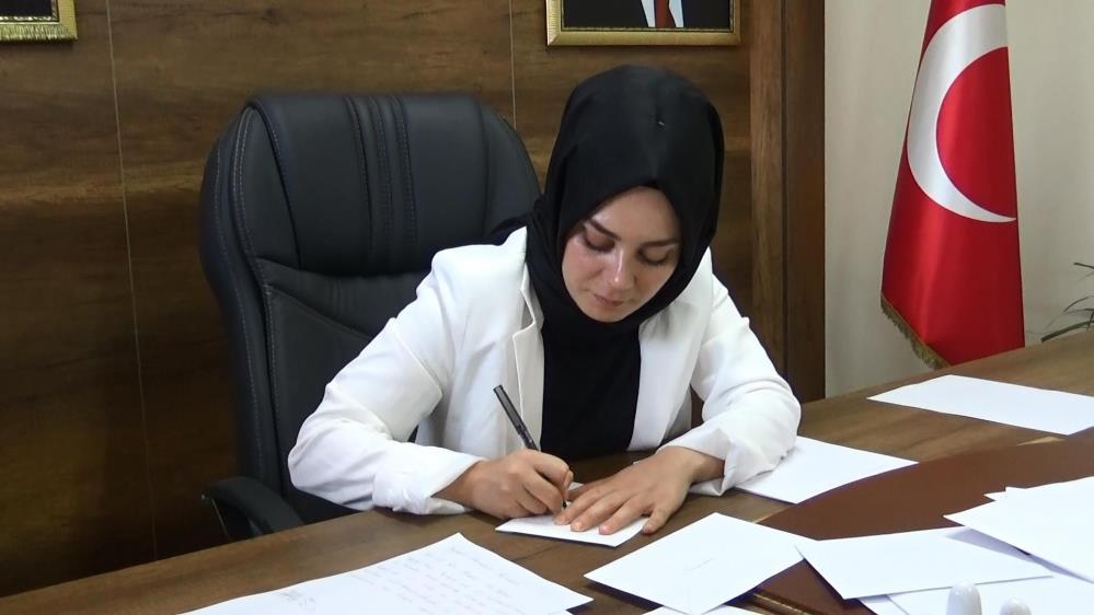 AK Parti Yenişehir ilçe Başkanlığından, 'Gönül seferberliği'ne 21 bin mektup ile destek
