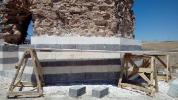 Eğil'deki Lala Kasım Bey ve Cafer Bey Kümbetleri'nde restorasyon başladı