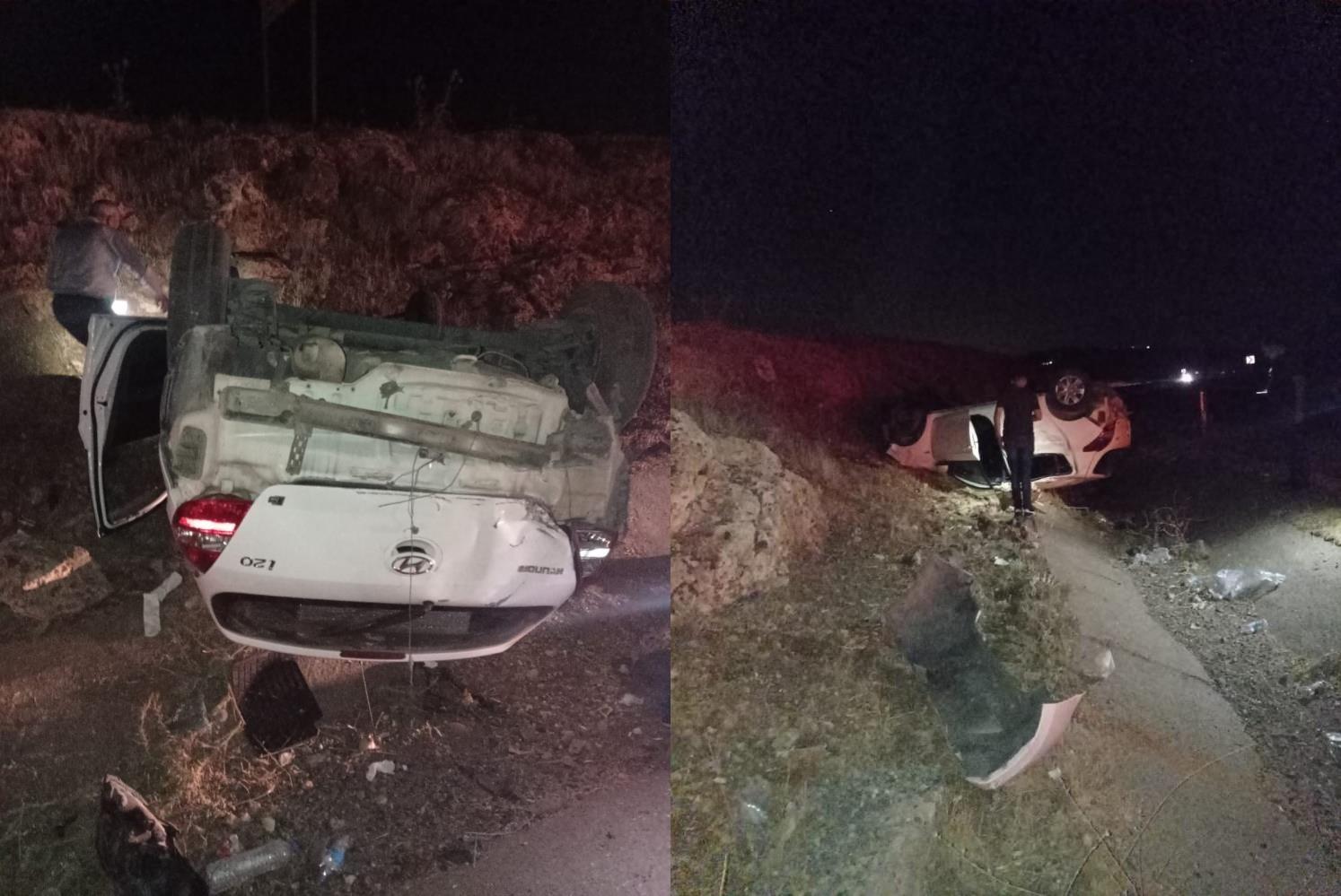 Ergani'de trafik kazası: 6 yaralı