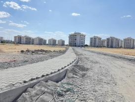 Yenişehir Belediyesinden Üçkuyu Mahallesi'ne yeni kaldırımlar