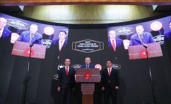 Erdoğan: Kıbrıs Türkü'nün güven ve huzur içinde yaşaması bizim için her şeyden önemlidir