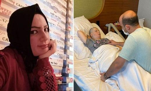 Beyninde tümör oluşan kadın yardım bekliyor