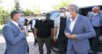 AK Parti Diyarbakır Milletvekili Eker, DTB Başkanı Yeşil ile bir araya geldi