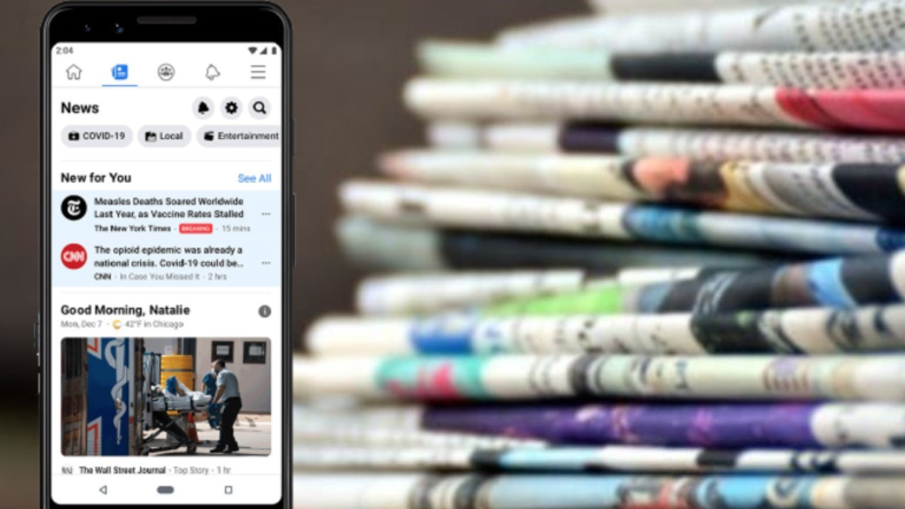 Facebook 'Gazeteciliği Bitirmeye Çalışmakla' Suçlanıyor