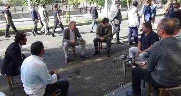 Diyarbakır Emniyet Müdürü Aşkın, vatandaşlarla çay içip sohbet etti