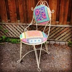 Cast Iron Soda Chair