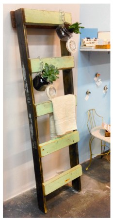 Ladder Towel Rack