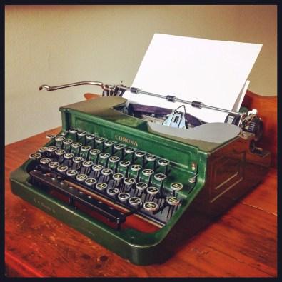 Rare Typewriter