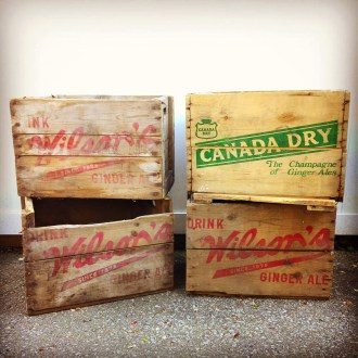Wood Soda Crates