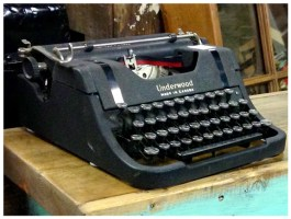 Portable Underwood Typewriter