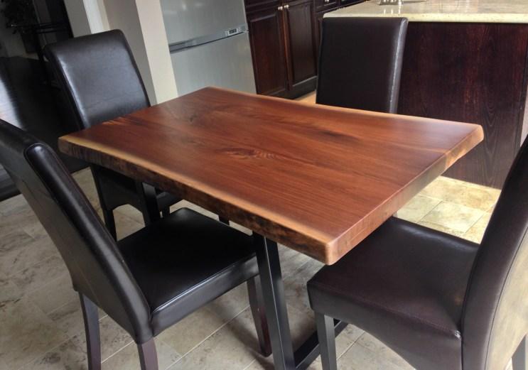 The Tillsonburg Black Walnut Dinning Table