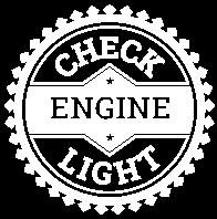 check engine light button