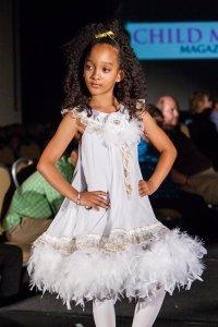 Aja Wooldridge at Child Model Magazine