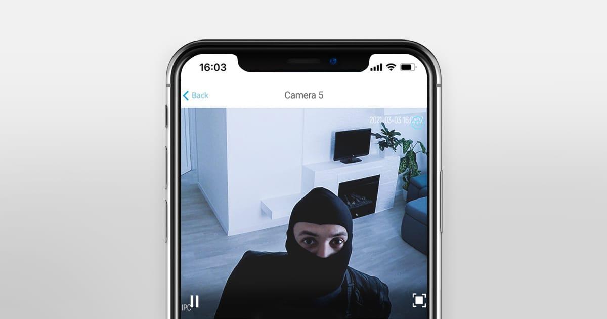 ajax video surveillance